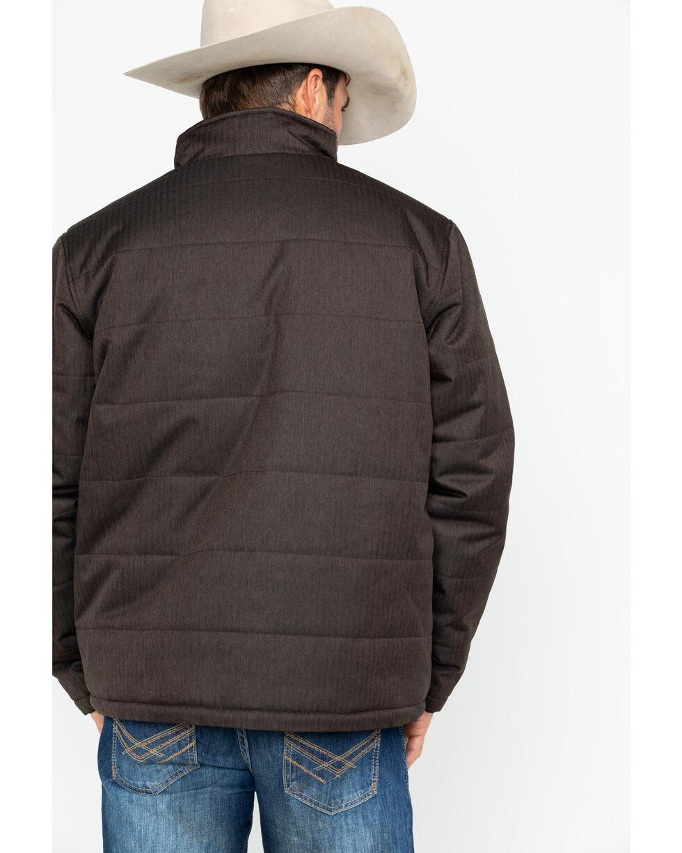 Cody James® Men's Alpine Hooded Jacket, Brown, hi-res