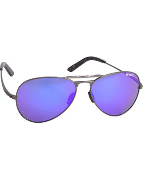 Bex Gunmetal Wesley Sunglasses , Dark Grey, hi-res