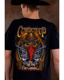 Cowboy Up Men's Skeleton Cowboy Graphic Tee, , hi-res