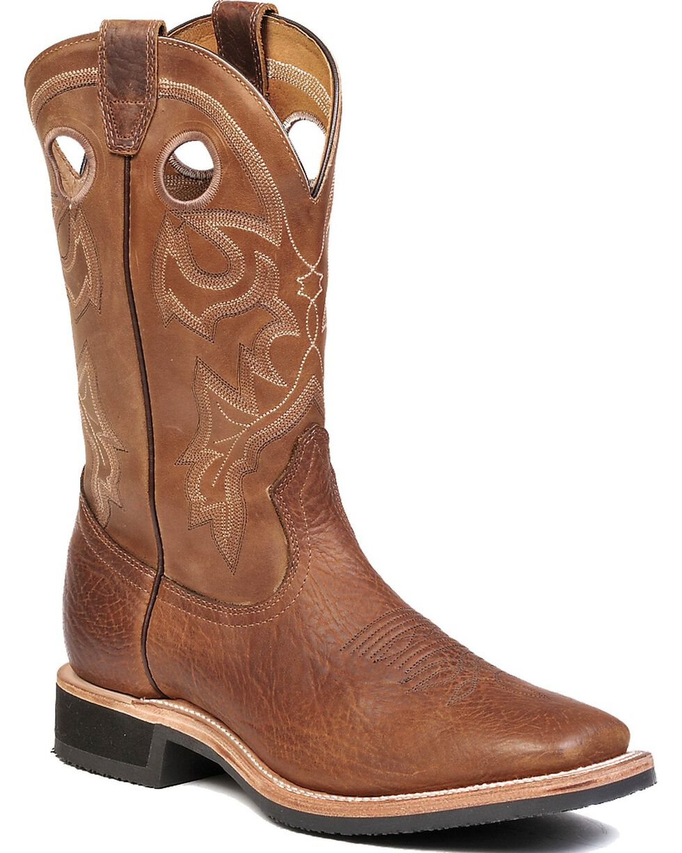 "Boulet Men's 12"" 2 Density Sole Wide Square Toe Boots, Brown, hi-res"