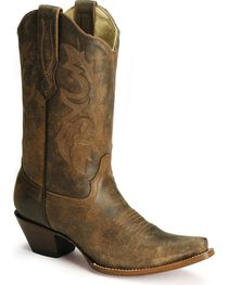 Corral Women's Distressed Snip Toe Western Boots, , hi-res