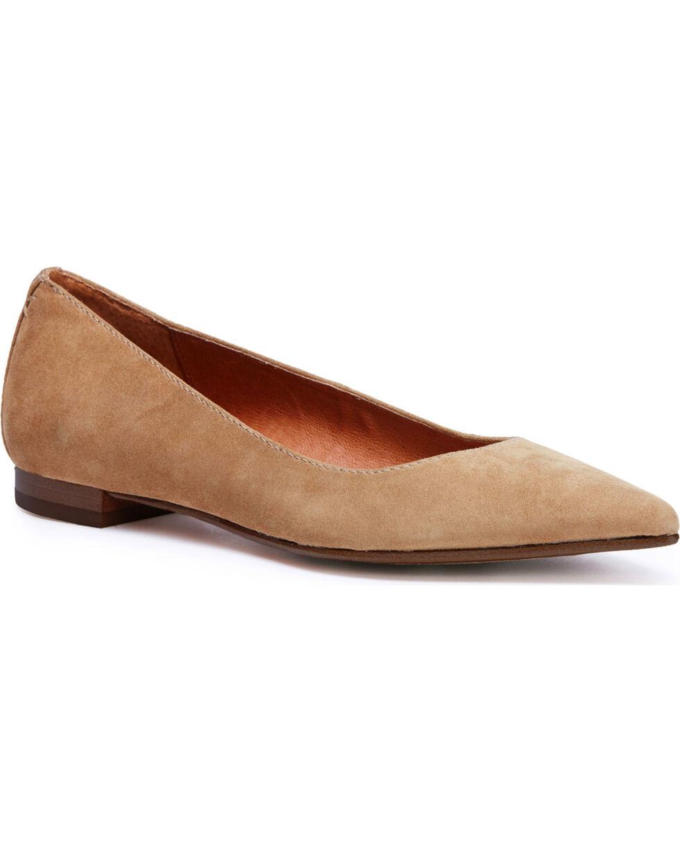 Frye Women's Tan Sienna Ballet Shoes, Tan, hi-res