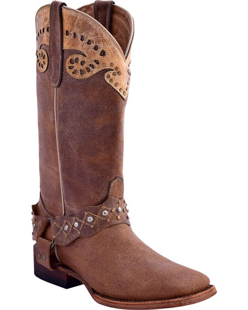 Ferrini Women's Outlaw Western Boots - Square Toe, , hi-res
