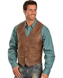 Scully Men's Heavy Lambskin Vest, , hi-res