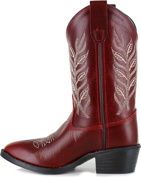 Shyanne® Girls' Embroidered Western Boots  , Red, hi-res