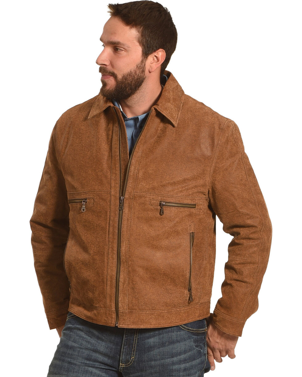Cripple Creek Men's Brown Concealed Carry Jacket , Brown, hi-res