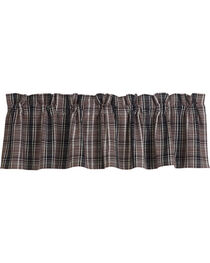 HiEnd Accents Whistler Plaid Valance, , hi-res