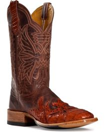 Cinch ® Caiman Wingtip Cowgirl Boots - Square Toe, , hi-res