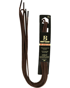 BB Ranch Brown 100% Kevlar Laces , Brown, hi-res