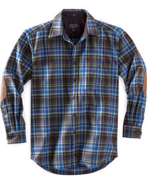 Pendleton Men's Brown and Green Plaid Trail Shirt , , hi-res