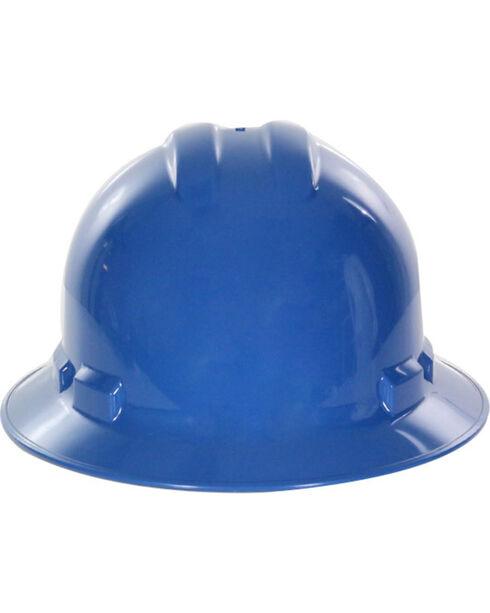 Radians Blue Quartz Full Brim Hard Hats , Blue, hi-res