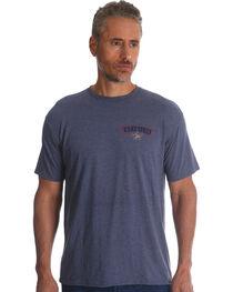 Wrangler Men's Indigo PBR Short Sleeve Tee , , hi-res