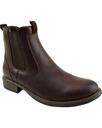 Eastland Men's Dark Brown Daily Double Jodhpur Boots , , hi-res