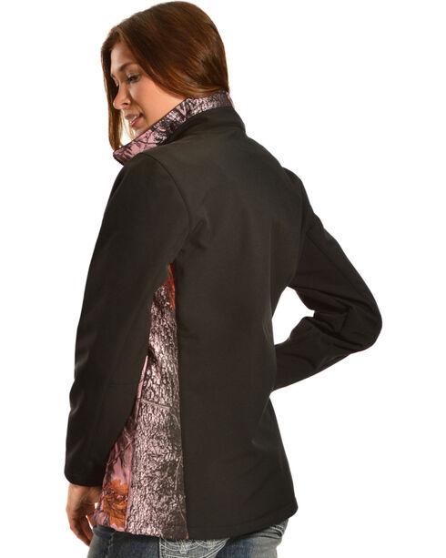 Red Ranch Women's Bonded Pink Camo Jacket , Black, hi-res
