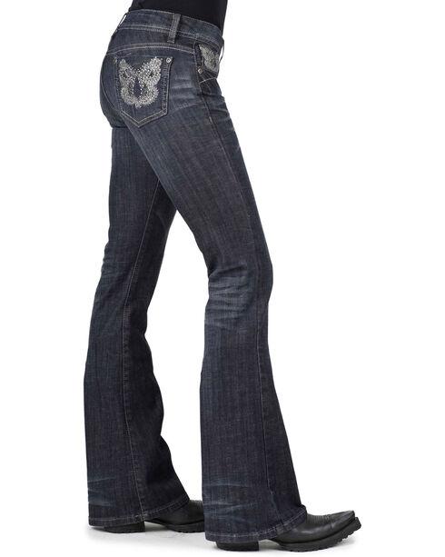Stetson Women's Classic Boot Cut Jeans, Denim, hi-res