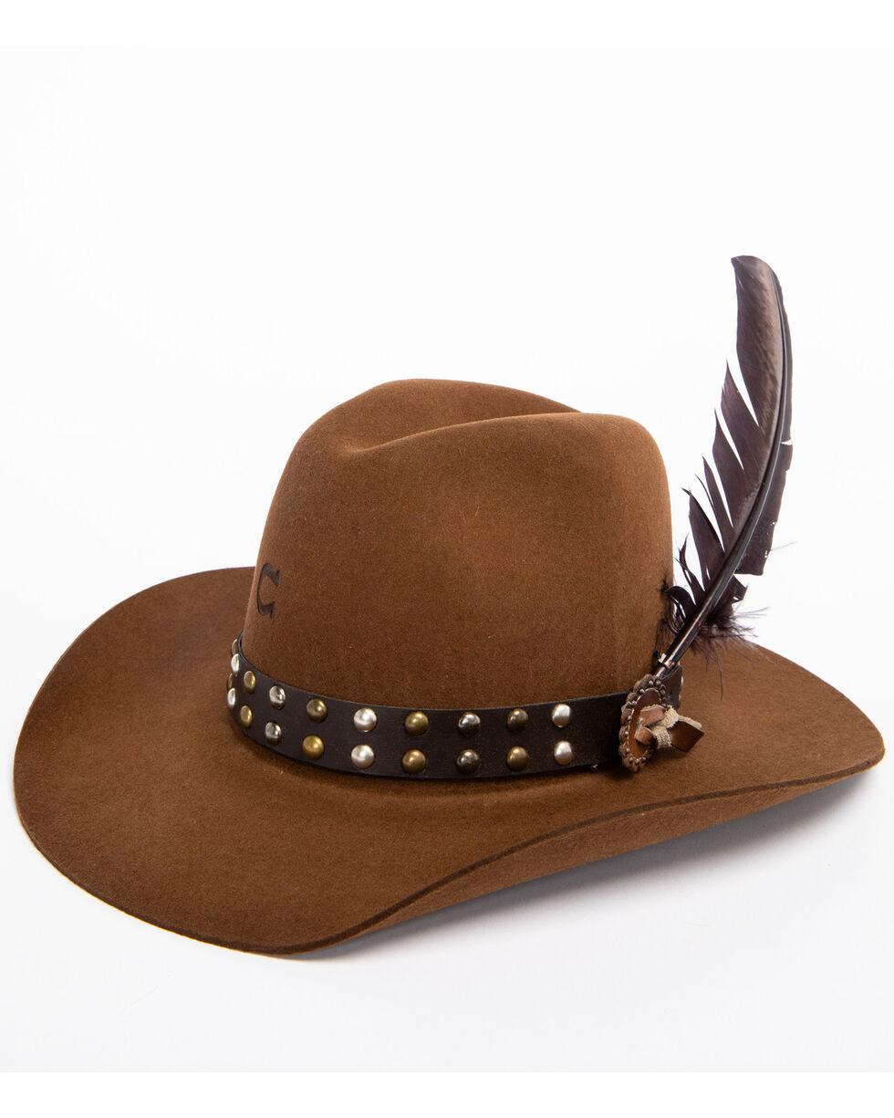 Charlie 1 Horse Women's 5X Salty Broad Wool Hat, Brown, hi-res