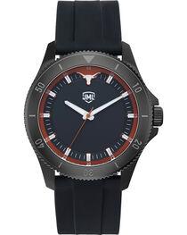 Jack Mason Men's Texas Blackout Silicone Watch , , hi-res