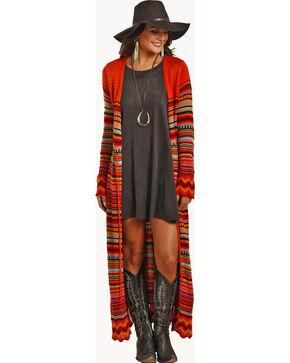 Powder River Outfitters Women's Serape Cardigan, Multi, hi-res