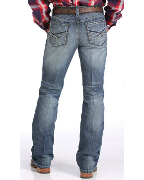Cinch Men's Ian Slim Fit Boot Cut Jeans, Denim, hi-res