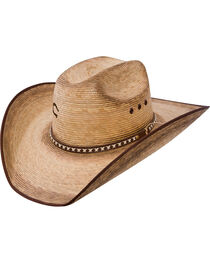 Charlie 1 Horse Women's Comanche Burnished Straw Cowgirl Hat, , hi-res