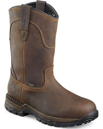 Red Wing Irish Setter Two Harbors Pull-On Work Boots - Steel Toe , , hi-res
