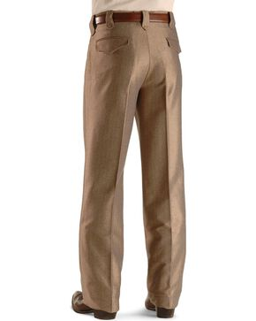 Circle S Men's Swedish Knit Dress Ranch Pants, Khaki, hi-res