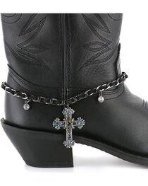Shyanne® Women's Cross Boot Bracelet, , hi-res