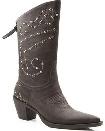 Roper Women's Studded Fashion Western Boots, , hi-res
