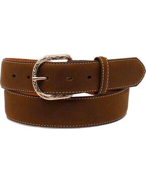 Cody James® Men's Christian Cowboy Leather Belt, Brown, hi-res