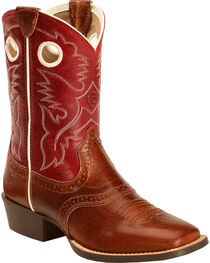 Ariat Kids' Rough Stock Western Boots, , hi-res