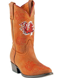 Gameday Boots Girls' University of South Carolina Western Boots - Medium Toe, , hi-res