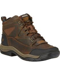 Ariat Men's Terrain Wide Square Toe Endurance Boots, , hi-res