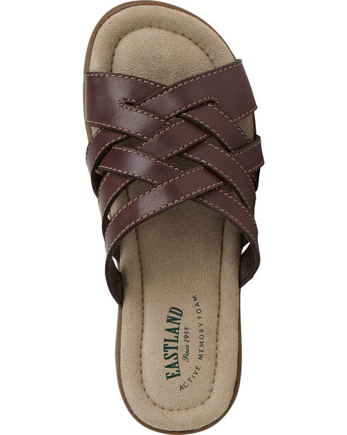 Eastland Women's Brown Hazel Sandals , Brown, hi-res