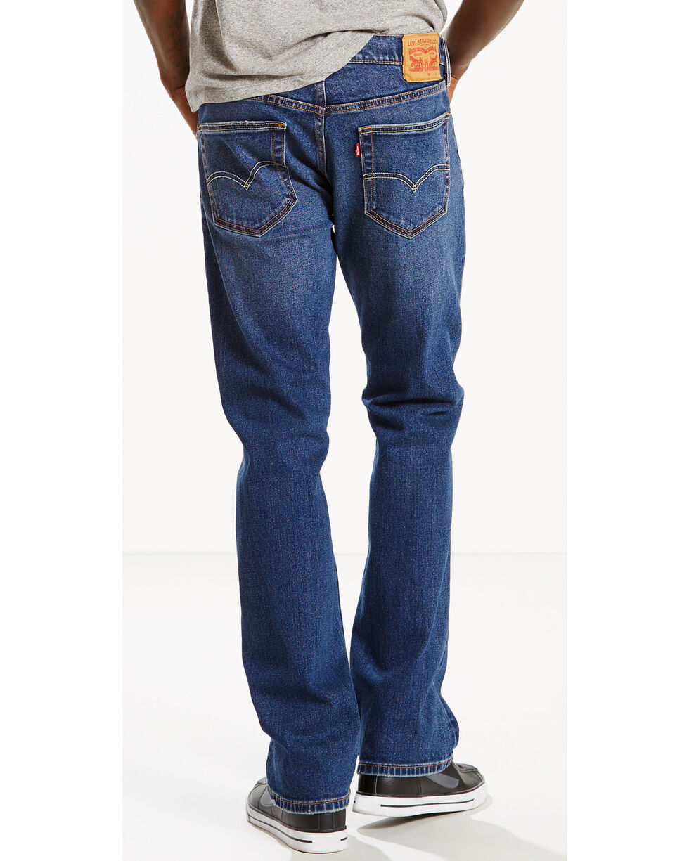 Levi's Men's 527 Slim Fit Jeans - Boot Cut , Indigo, hi-res