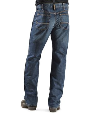 Ariat Men's Heritage Relaxed Boot Cut Jeans, Dark Stone, hi-res