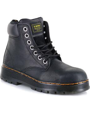 Dr. Marten Men's Winch Wyoming Steel Toe Work Boots, Black, hi-res
