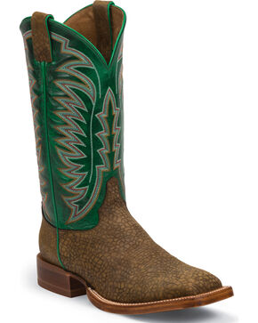 Justin Men's Desperado CPX Western Boots, Brown, hi-res