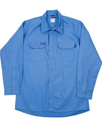 Lapco Men's Blue FR Uniform Shirt, , hi-res