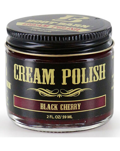 BB Ranch Black Cherry Leather Cream Polish , Mahogany, hi-res
