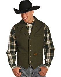 Powder River Outfitters Men's Montana Wool Vest - Big & Tall, , hi-res