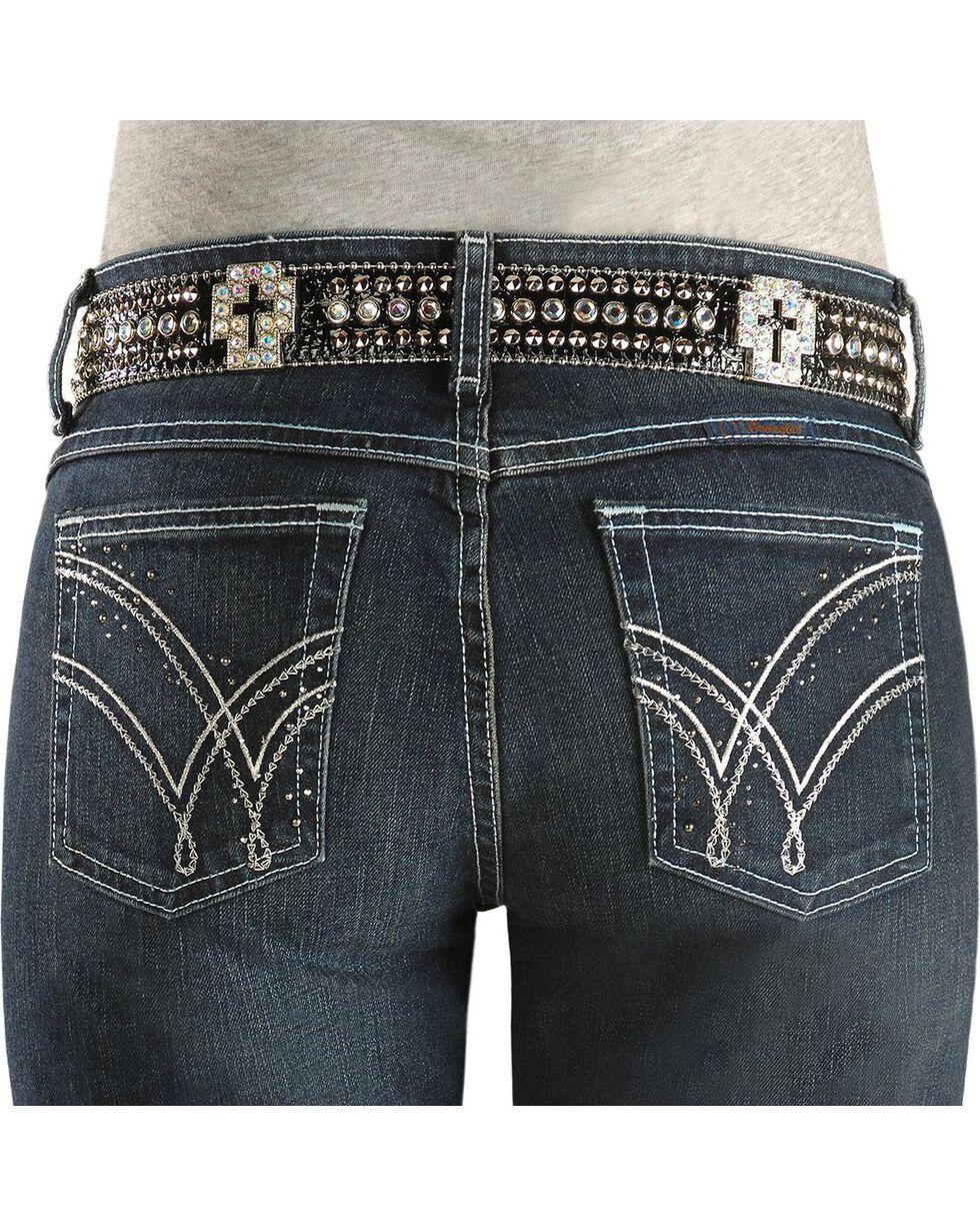 Wrangler Women's Ultimate Riding Q-Baby Jeans, Denim, hi-res
