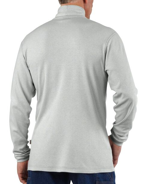 Carhartt Flame Resistant Long Sleeve Grey Mock Turtleneck, Grey, hi-res
