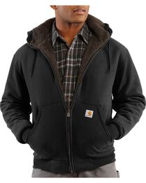 Carhartt Brushed Fleece Sherpa Lined Jacket, , hi-res