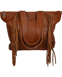 STS Ranchwear Saddle Brown Annie Oakley Tote , , hi-res