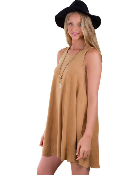 Others Follow Women's Groovy Tones Tunic , Camel, hi-res