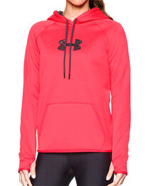 Under Armour Women's Cold Gear Camo Hoodie, , hi-res