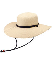 """Peter Grimm Coralia 4 1/2"""" Natural Sun Hat, , hi-res"""