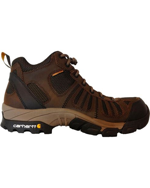 Carhartt Lightweight Waterproof Hiking Boots - Composite Toe, Brown, hi-res