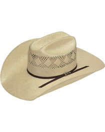 Twister Men's 8X Sisal Straw Cowboy Hat, , hi-res