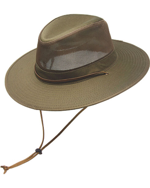 Peter Grimm Pike Olive Resort Hat, Olive, hi-res